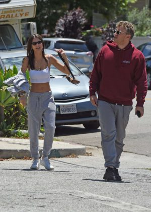 Emily Ratajkowski and Sebastian Bear-McClard out in LA