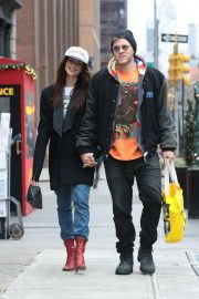 Emily Ratajkowski and Sebastian Bear-McClard - Out in New York