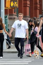 Emily Ratajkowski and Sebastian Bear-McClard - Out in NYC