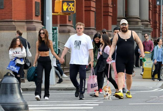 Emily Ratajkowski and Sebastian Bear-McClard - Out in NYC