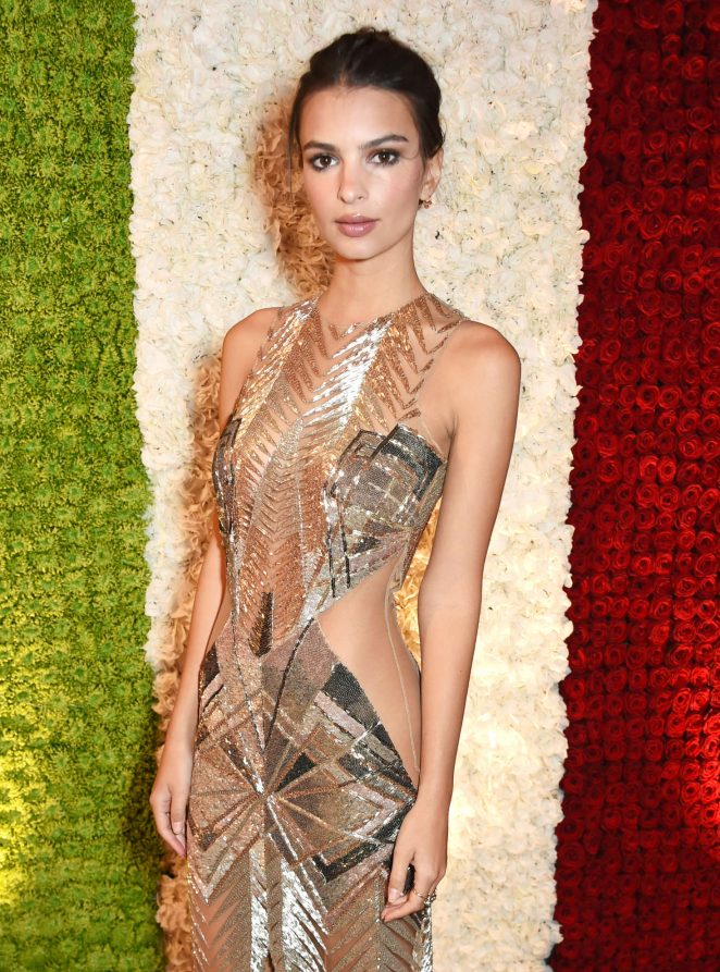 Emily Ratajkowski - Annabel's Private Club Opening at 46 Berkeley Square in London