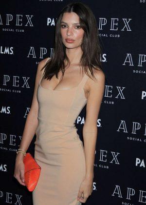 Emily Ratajkowski - Apex Social Club Grand Opening in Las Vegas