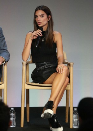 Emily Ratajkowski - Apple Store Soho Presents: Meet The Community Behind Fancy in NYC