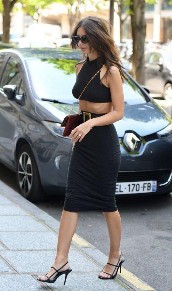Emily Ratajkowski 2019 : Emily Ratajkowski: Arrives at Royal Monceau hotel-07
