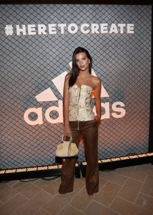 Emily Ratajkowski at Adidas and The Manchester United Squad Event in Hollywood