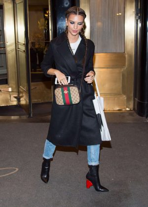 Emily Ratajkowski at InStyle Magazine Celebrates Cover Issue in New York