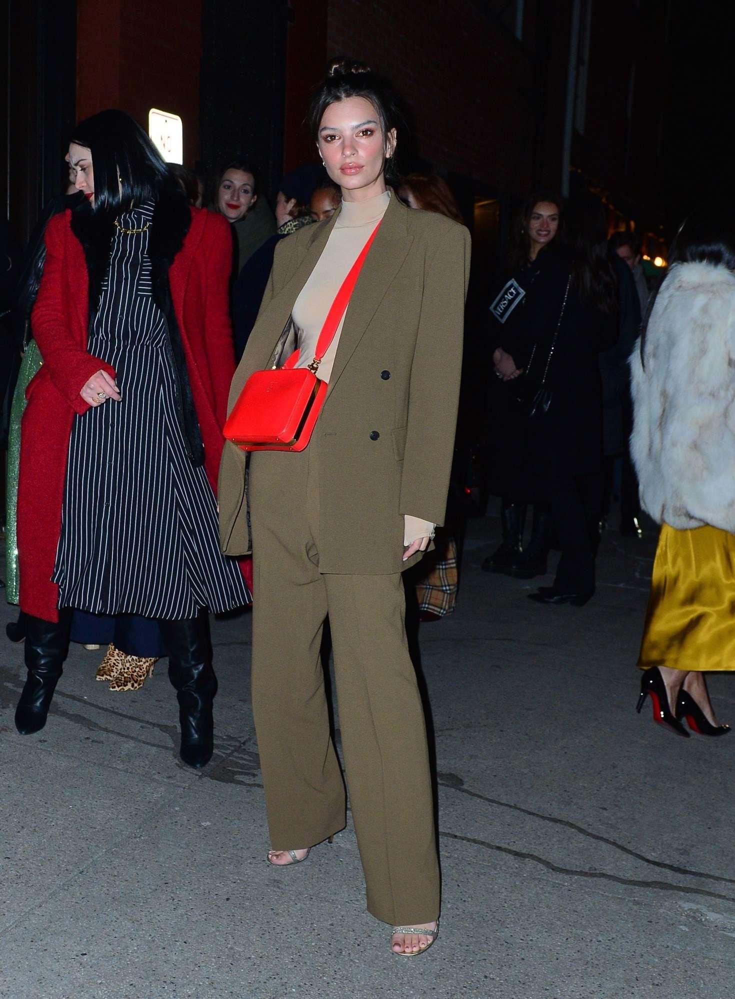Emily Ratajkowski 2019 : Emily Ratajkowski: Attend the Tiffany & Co party -05