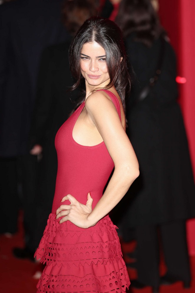 Emily Ratajkowski - Attends at L'Oreal Red Obsession Party 2016 in Paris
