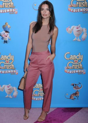 Emily Ratajkowski - Candy Crush Friends Live Launch in New York