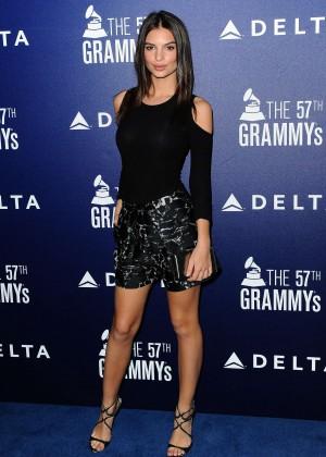 Emily Ratajkowski - Celebration 2015 GRAMMY Awards Event in West Hollywood