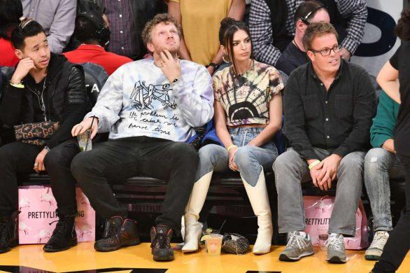 Emily Ratajkowski 2020 : Emily Ratajkowski – Cleveland Cavaliers vs Los Angeles Lakers at Staples Center-19