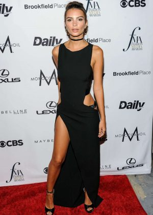 Emily Ratajkowski - Daily Front Row's Fashion Media Awards 2016 in New York