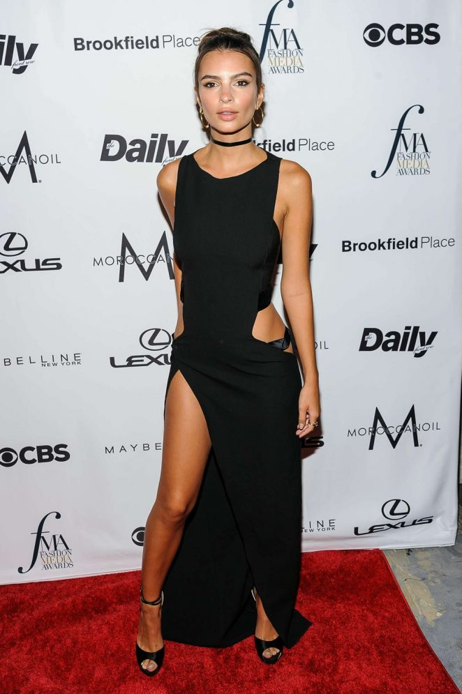 Emily Ratajkowski - Daily Front Row's Fashion Media Awards 2016 in New York