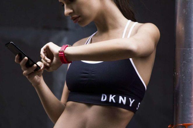Emily Ratajkowski - DKNY Smartwatch Photoshoot (November 2017)