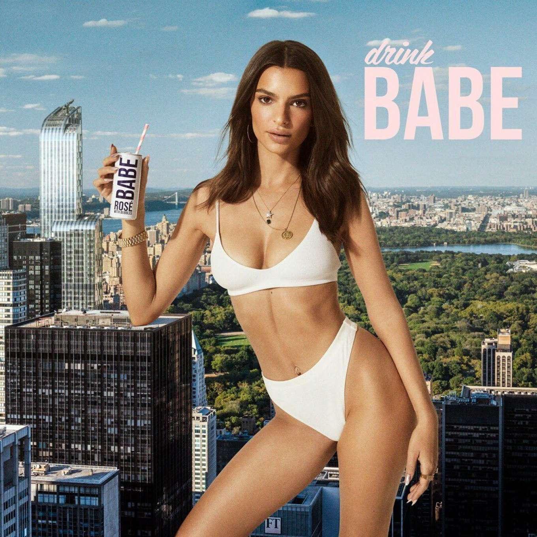 Emily Ratajkowski - Drink Babe Campaige (June 2019)