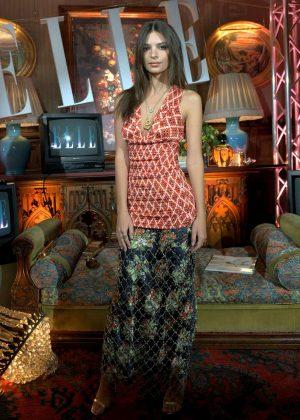Emily Ratajkowski - ELLE's Luxury Party in Madrid
