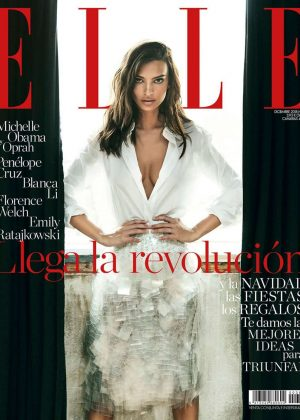 Emily Ratajkowski - Elle Spain Cover Magazine (December 2018)