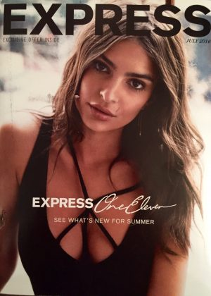 Emily Ratajkowski - Express Magazine Cover (July 2016)