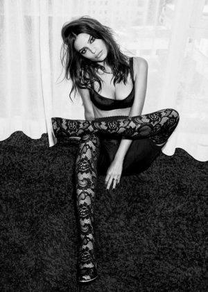 Emily Ratajkowski for Vogue Mexico Magazine (October 2018)