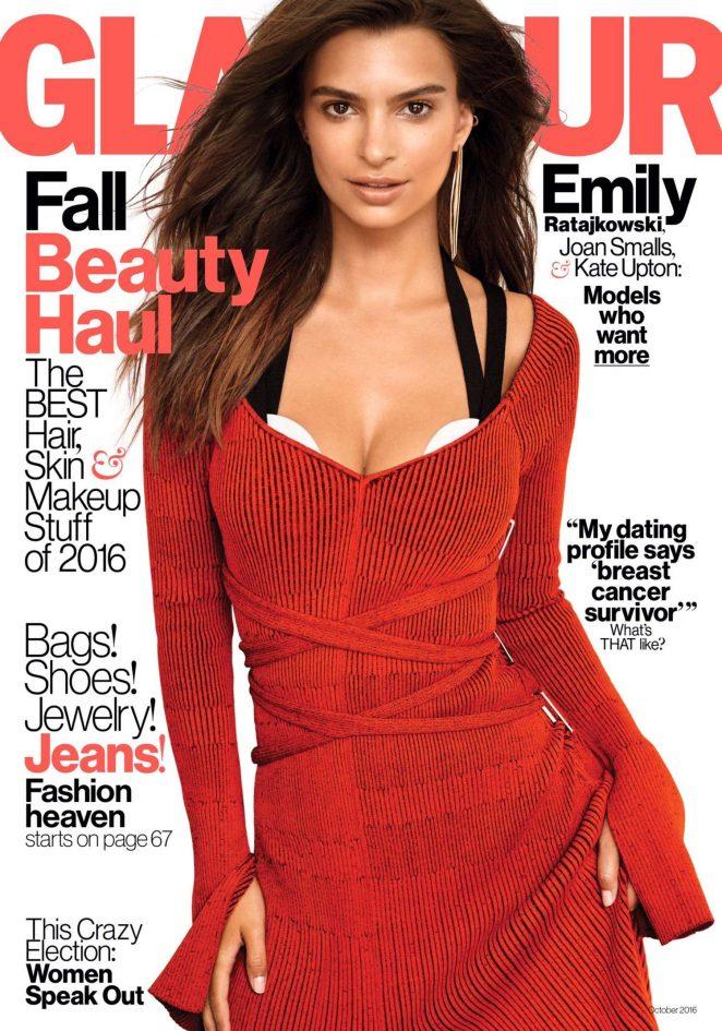 Emily Ratajkowski - Glamour US Magazine (October 2016)