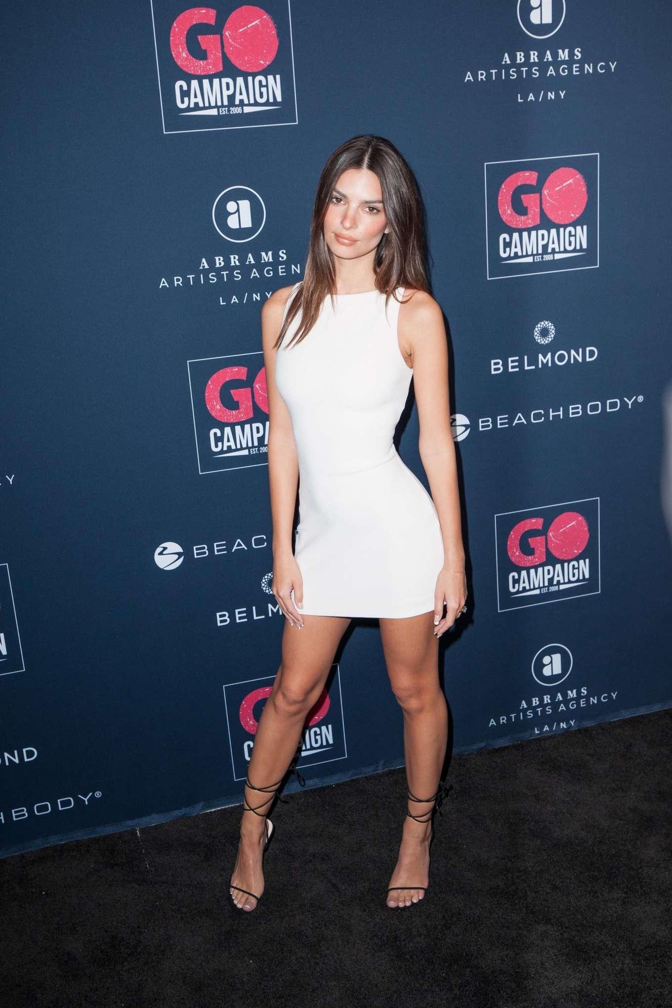 Emily Ratajkowski 2019 : Emily Ratajkowski – Go Campaigns 2019 Go Gala in Los Angeles-22