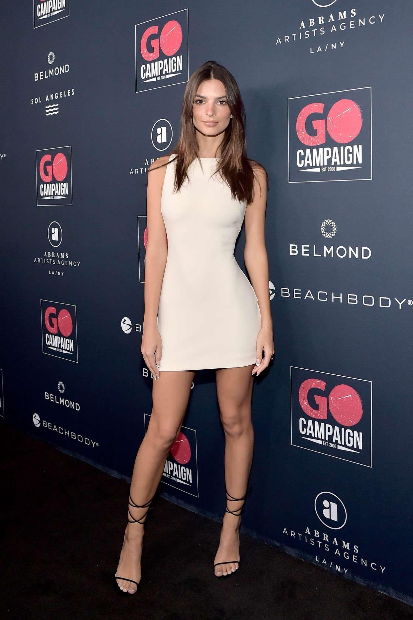 Emily Ratajkowski 2019 : Emily Ratajkowski – Go Campaigns 2019 Go Gala in Los Angeles-41