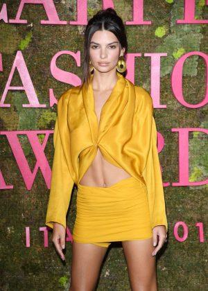 Emily Ratajkowski - Green Carpet Fashion Awards 2018 in Milan