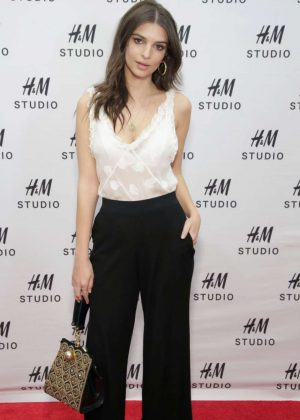 Emily Ratajkowski - H&M Studio Collection Event in New York