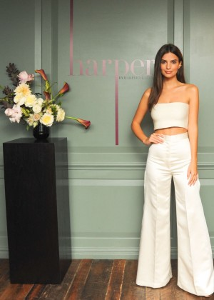 Emily Ratajkowski - Harper and Harper's Bazaar September Event in NY