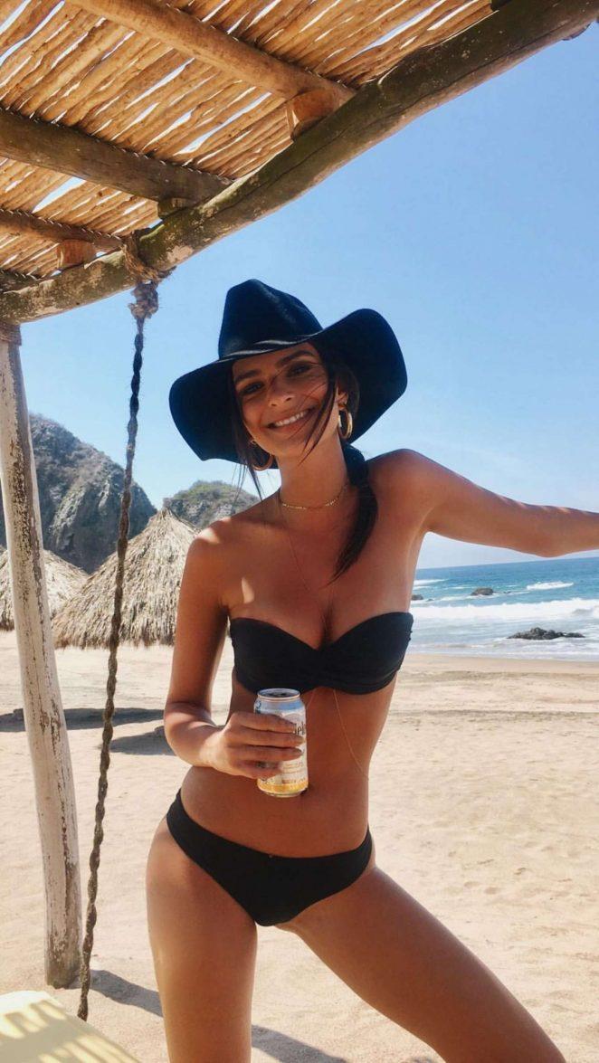 Emily Ratajkowski in Bikini - Social Media Pics