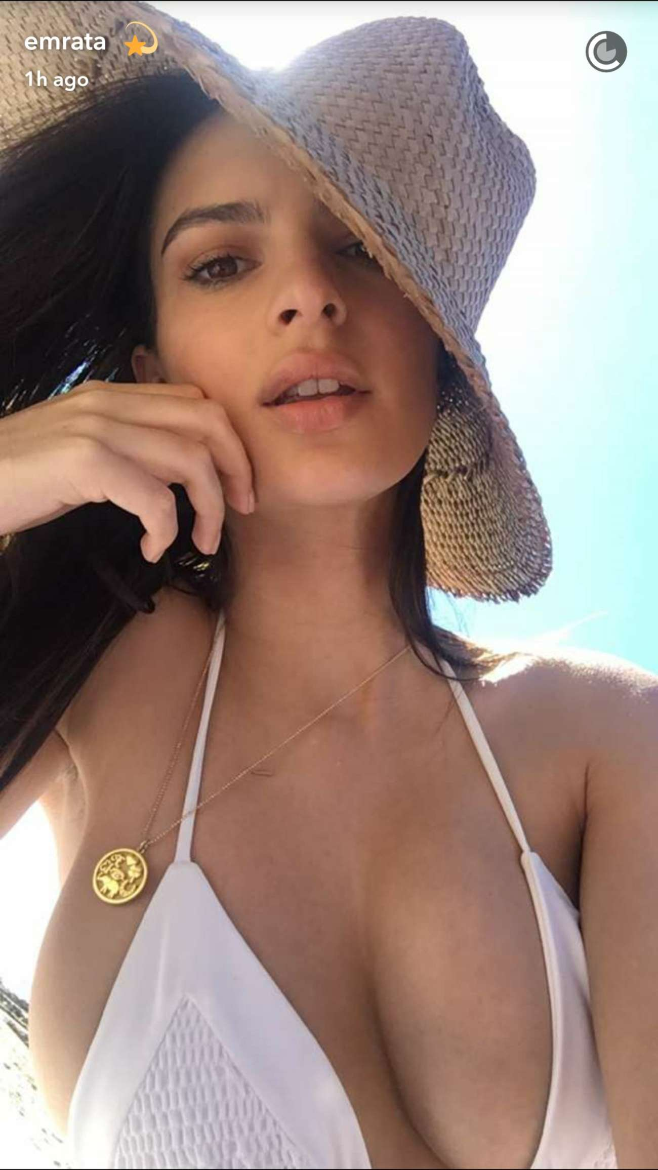 Emily Ratajkowski in Bikini and Swimsuit Social Media