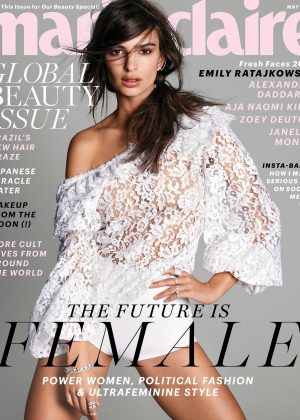 Emily Ratajkowski in Marie Claire Magazine (May 2017)