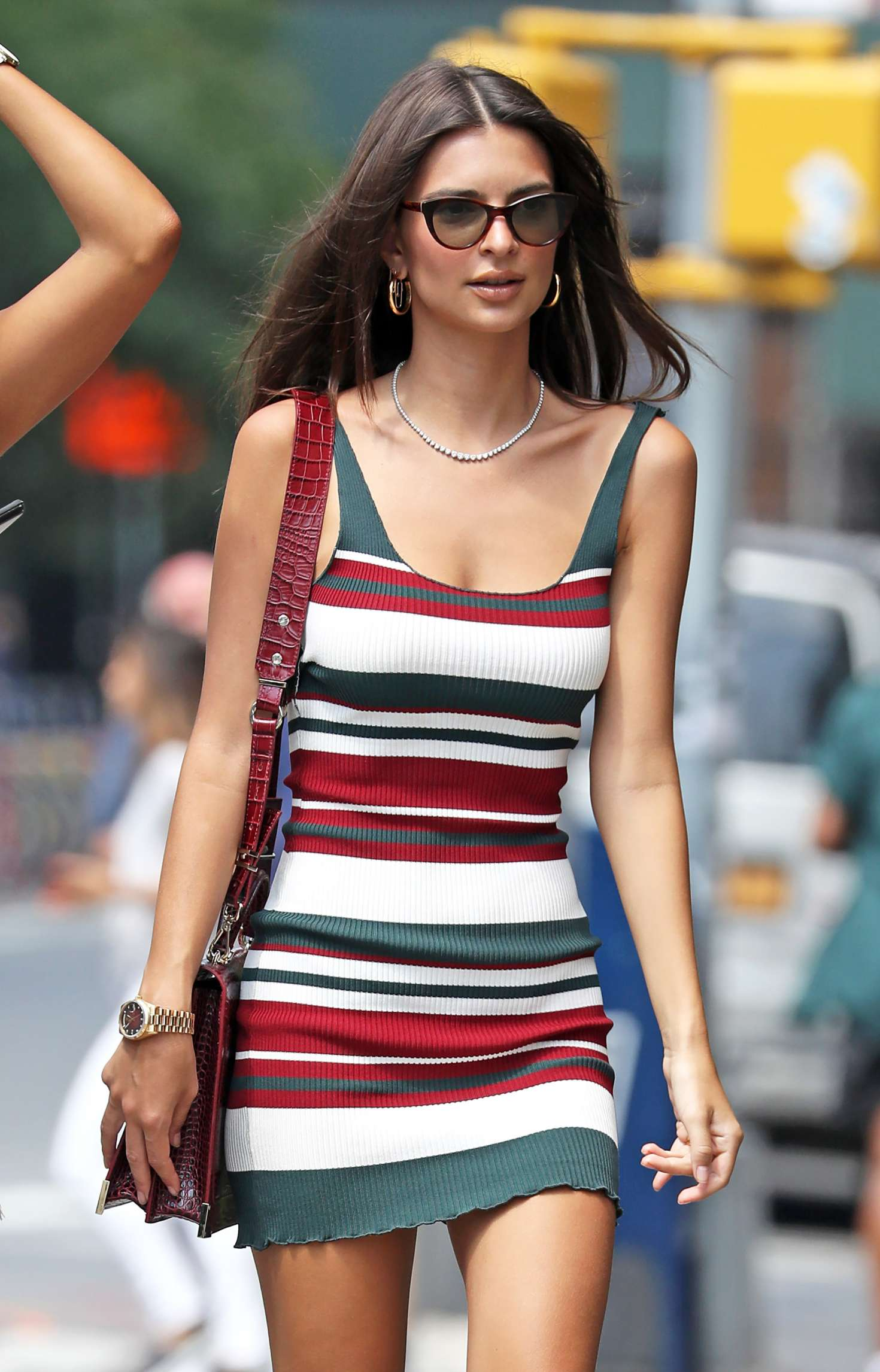 Emily Ratajkowski in Mini Dress – Out in New York City