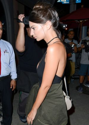 Emily Ratajkowski in Short Dress -05