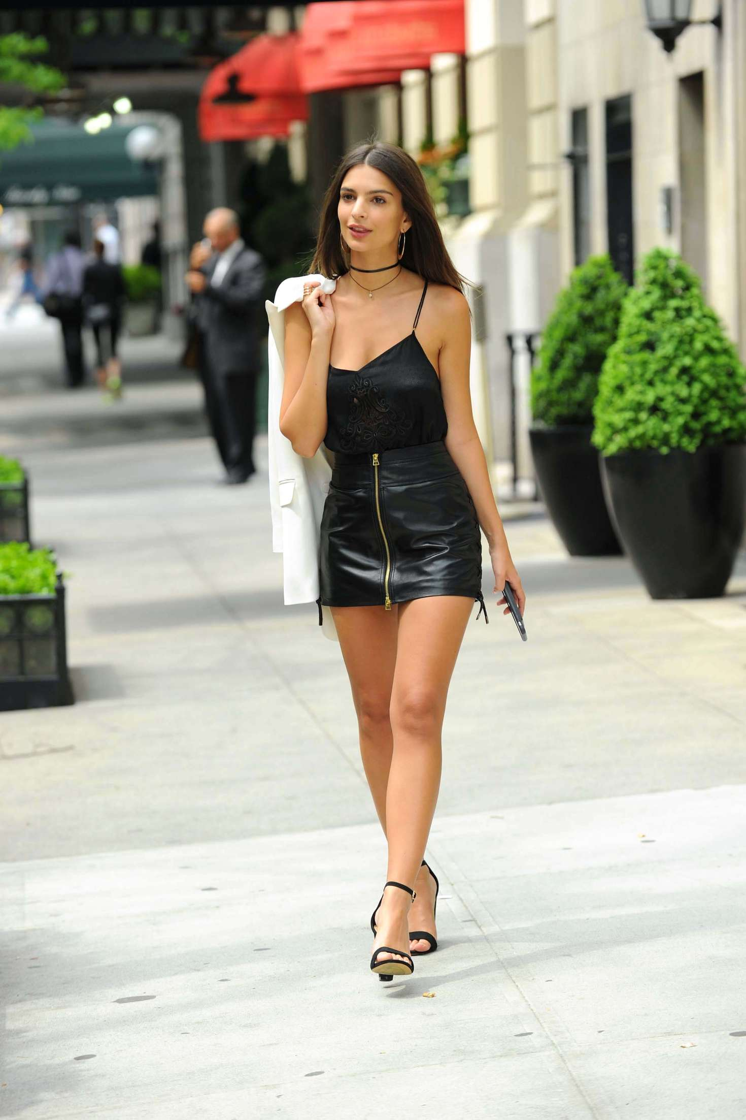 Women In Short Leather Skirts - Dress Ala