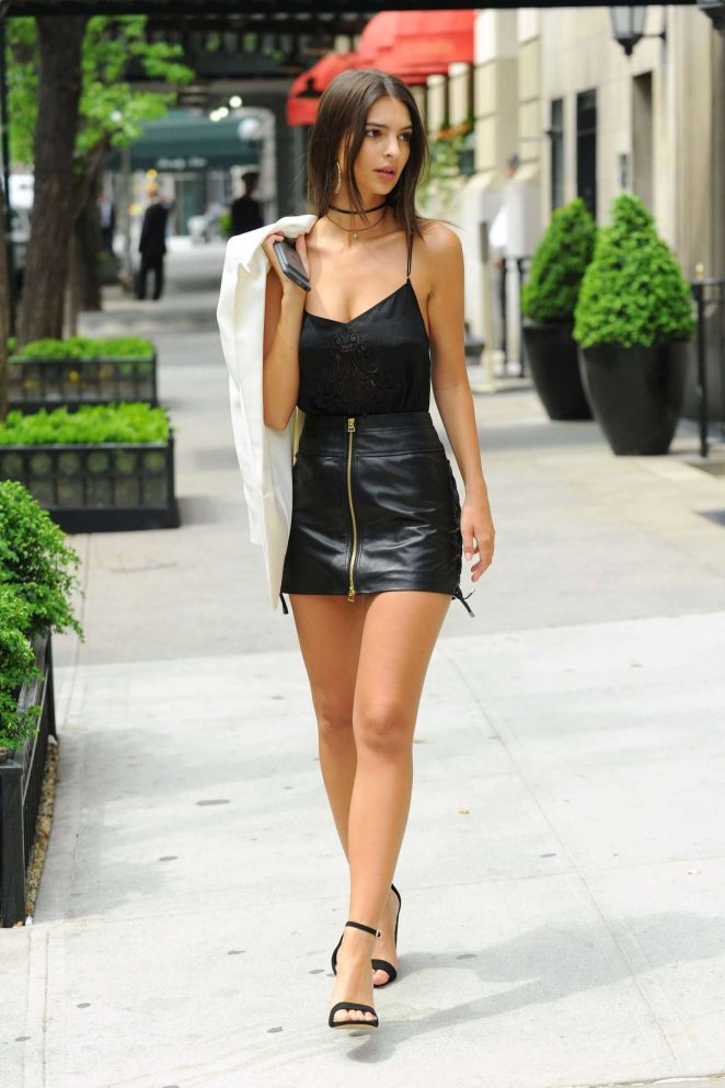 Short Leather Skirt - Dress Ala