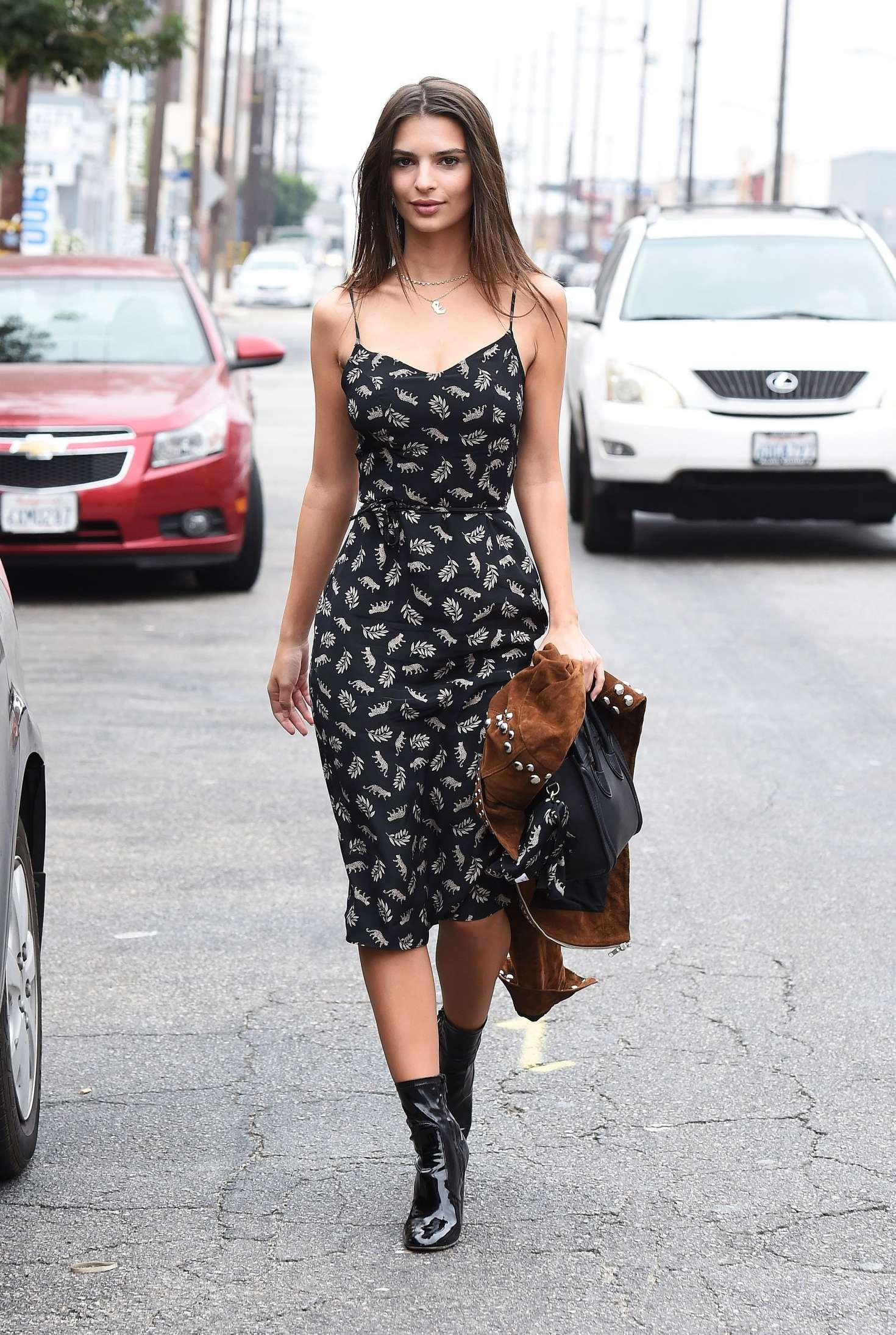 Emily Ratajkowski 2016 : Emily Ratajkowski in Summer Dress -09