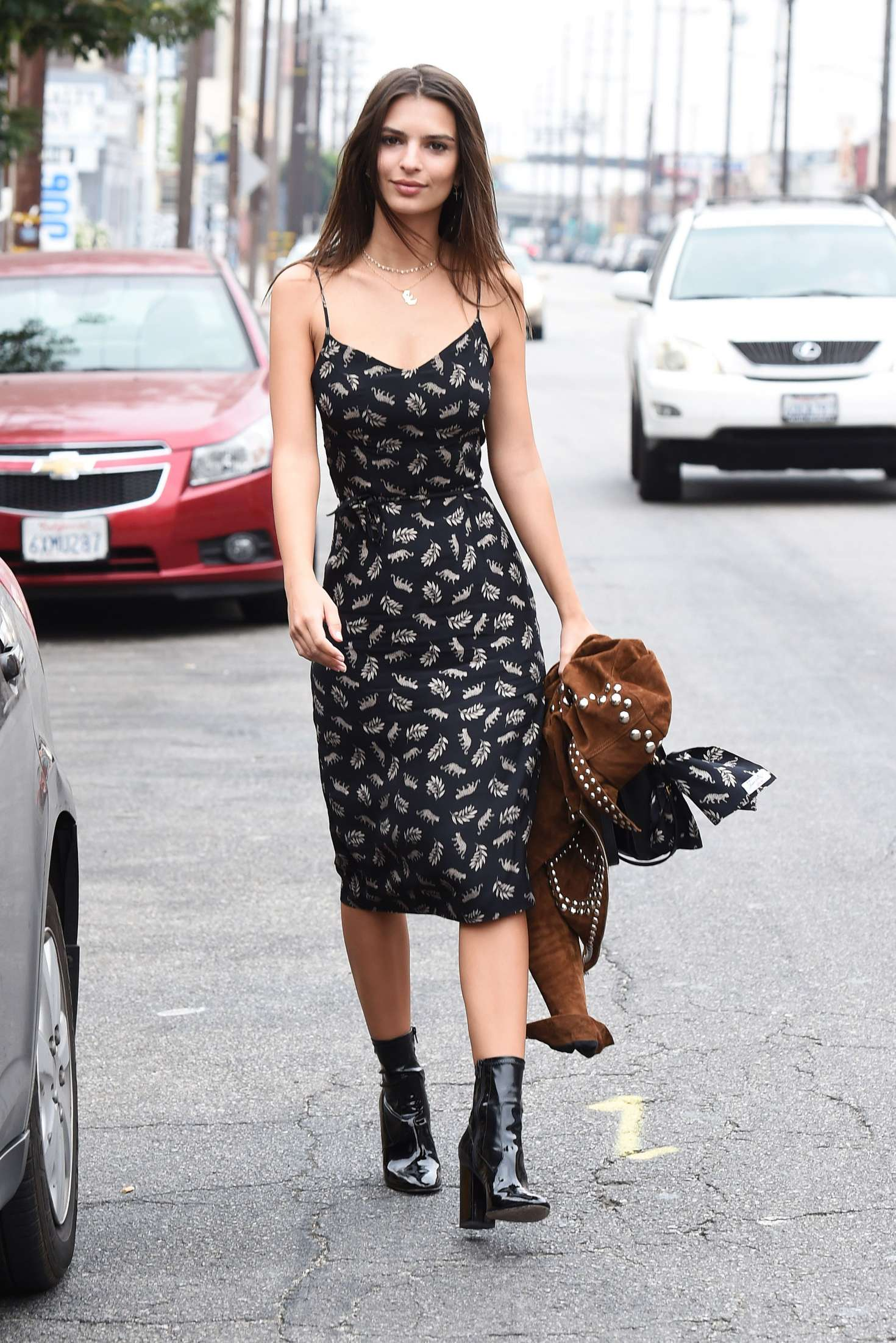 Emily Ratajkowski 2016 : Emily Ratajkowski in Summer Dress -10