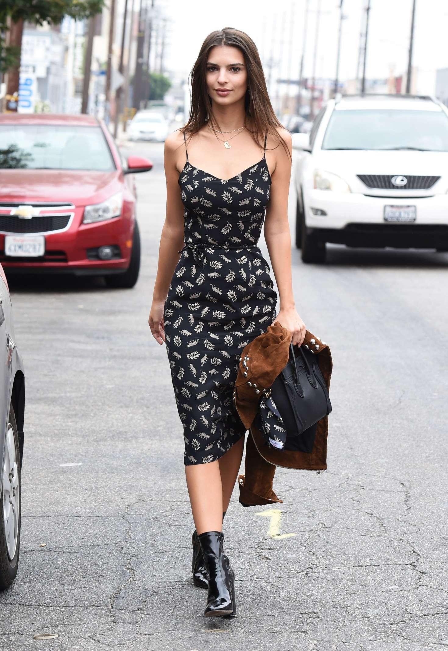 Emily Ratajkowski 2016 : Emily Ratajkowski in Summer Dress -20