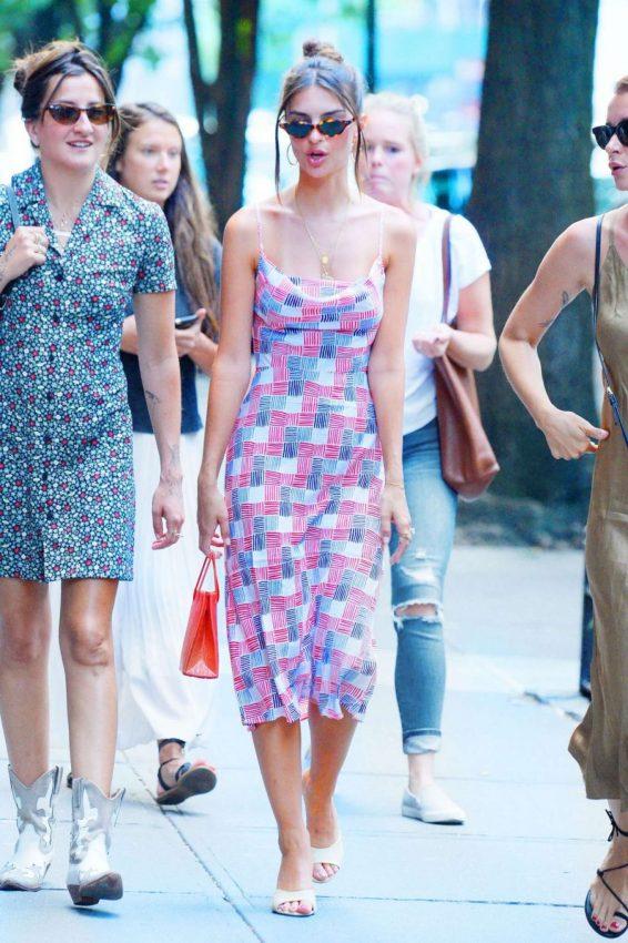 Emily Ratajkowski 2019 : Emily Ratajkowski in Summer Dress-02