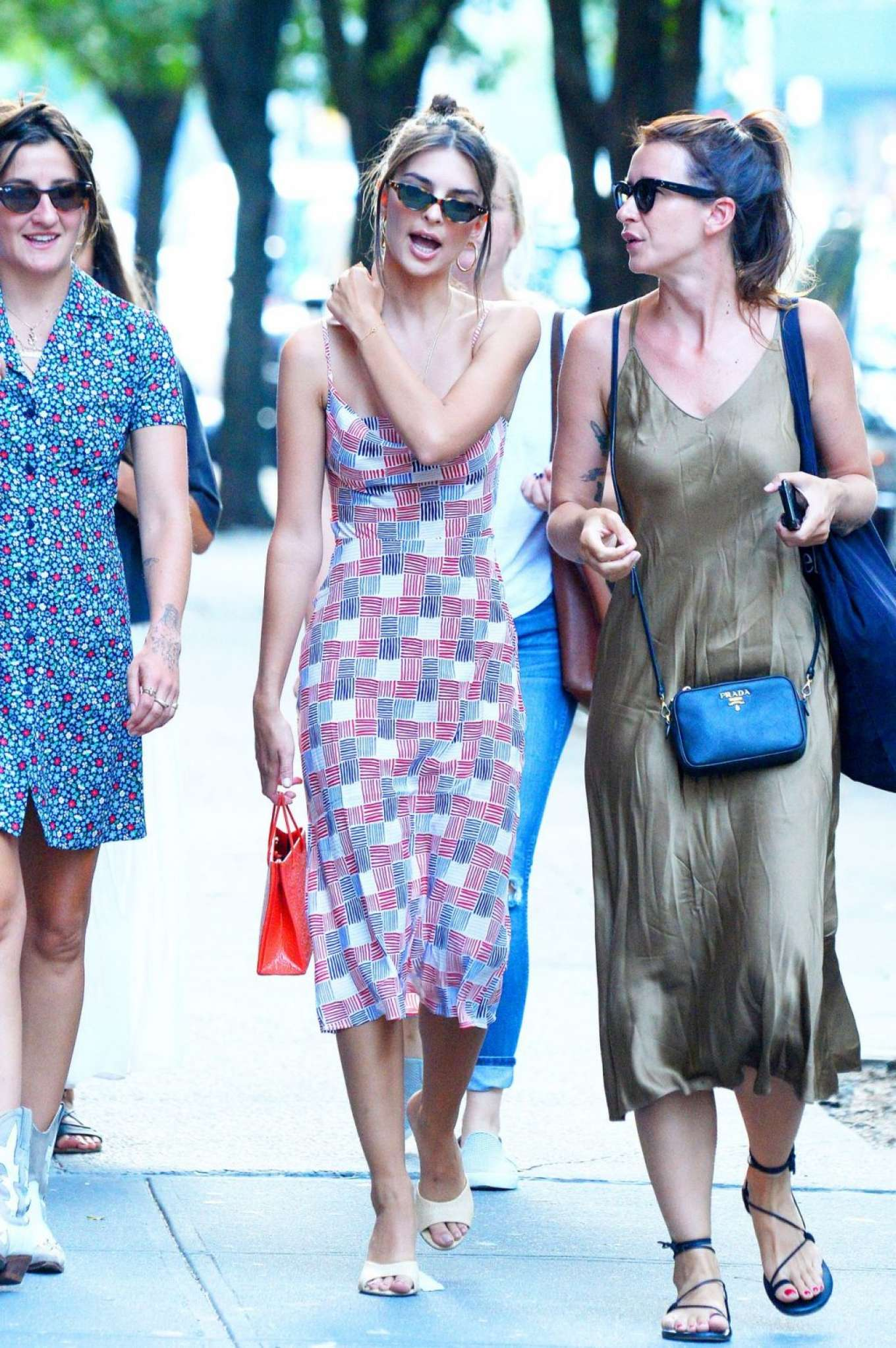 Emily Ratajkowski 2019 : Emily Ratajkowski in Summer Dress-08