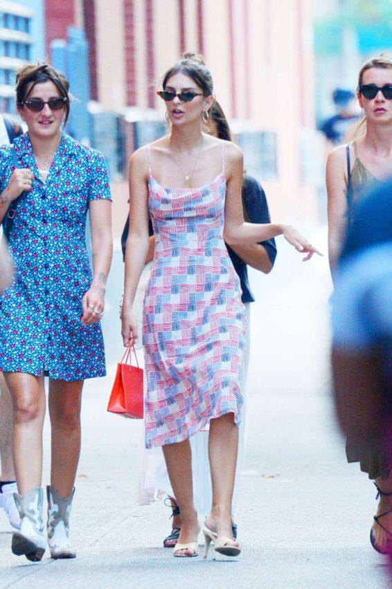 Emily Ratajkowski 2019 : Emily Ratajkowski in Summer Dress-10