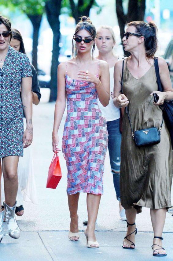 Emily Ratajkowski 2019 : Emily Ratajkowski in Summer Dress-11