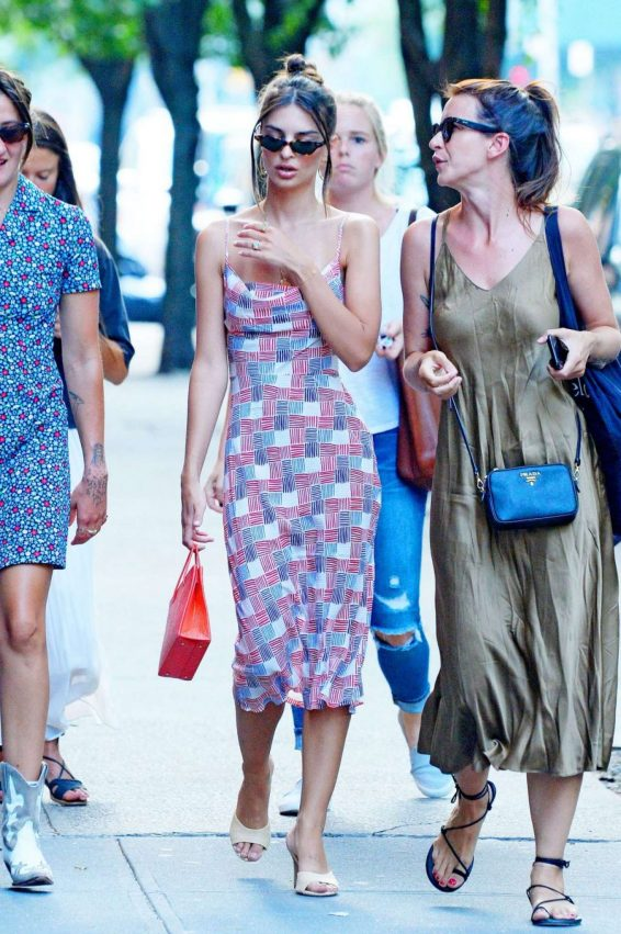 Emily Ratajkowski 2019 : Emily Ratajkowski in Summer Dress-12