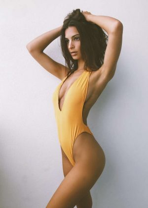 Emily Ratajkowski in Swimsuit - Social Media Pics