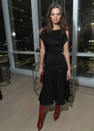 Emily Ratajkowski - InStyle Dinner to Celebrate the April Issue in NYC