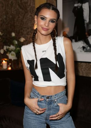 Emily Ratajkowski - InStyle March issue party in New York