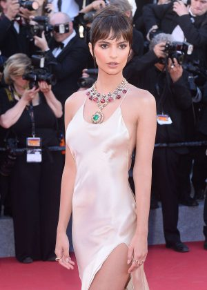 Emily Ratajkowski - 'Ismael's Ghosts' Screening at 70th Annual Cannes Film Festival in France