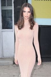 Emily Ratajkowski - Leaves 'The Tonight Show Starring Jimmy Fallon' in NYC