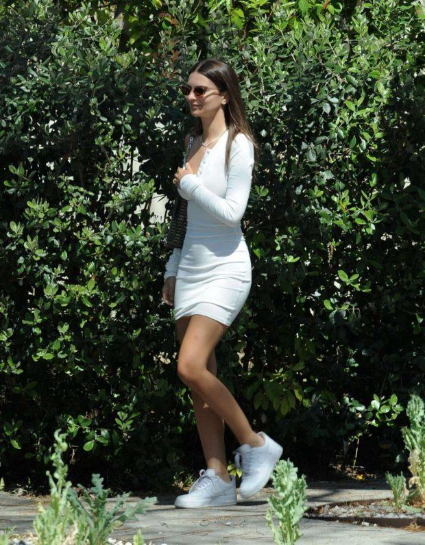 Emily Ratajkowski - Leaving from a Love Magazine Photoshoot in Los Angeles